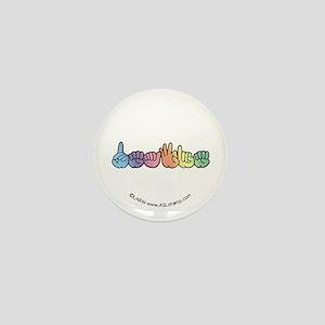Pastel DEAFIE Mini Button