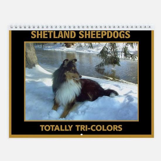 Great Tri-Color Sheltie Wall Calendar!