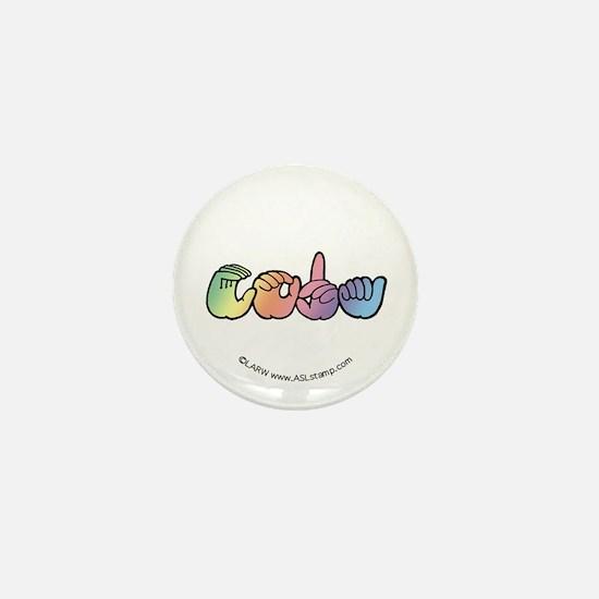 Pastel CODA Mini Button