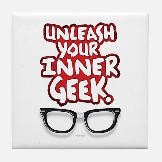 Inner Geek Tile Coaster
