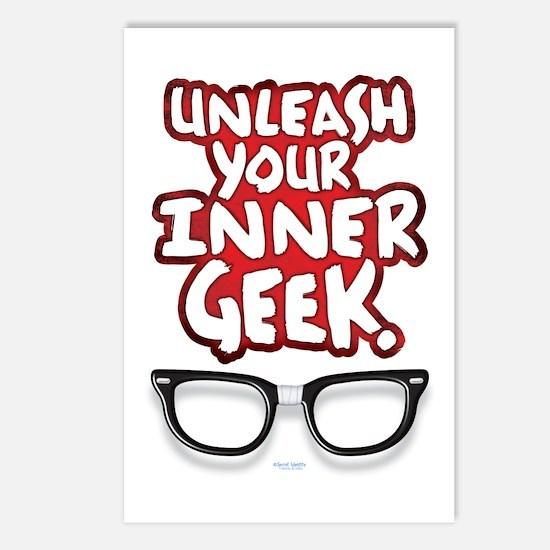 Inner Geek Postcards (Package of 8)