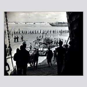 WWII D-Day Small Poster