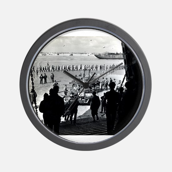WWII D-Day Wall Clock
