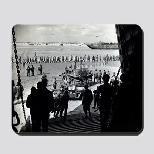 WWII D-Day Mousepad