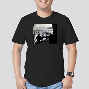 WWII D-Day Men's Fitted T-Shirt (dark)