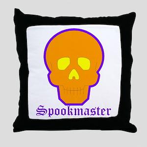 Spookmaster Throw Pillow