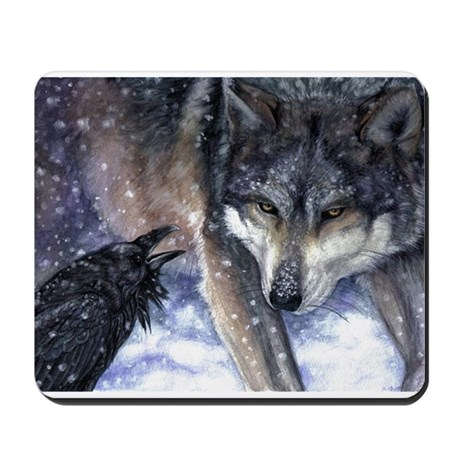The Messenger Mousepad
