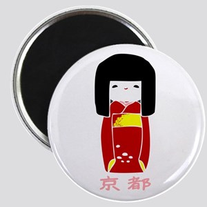 """""""Japanese Kyoto Doll"""" Magnet"""