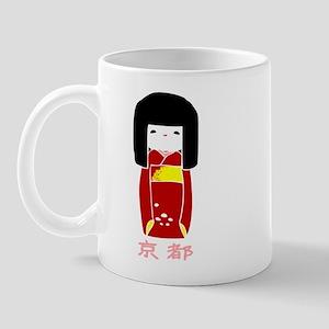 """""""Japanese Kyoto Doll"""" Mug"""