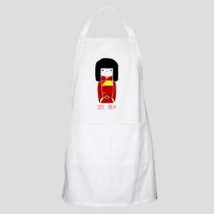 """Japanese Kyoto Doll"" BBQ Apron"