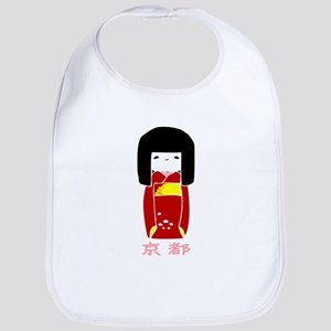 """Japanese Kyoto Doll"" Bib"