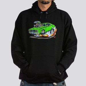 Duster Green Car Hoodie (dark)