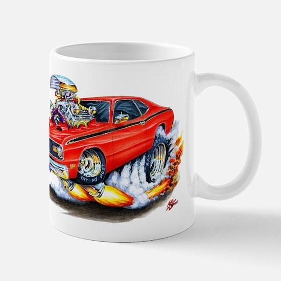 Duster Red Car Mug