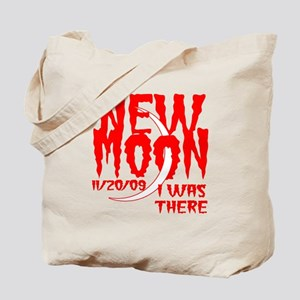 New Moon I was there Tote Bag