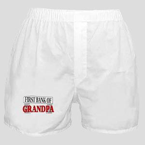BANK OF GRANDPA Boxer Shorts