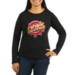 Captain Obvious Women's Long Sleeve Dark T-Shirt