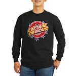 Captain Obvious Long Sleeve Dark T-Shirt