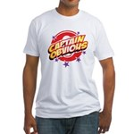 Captain Obvious Fitted T-Shirt