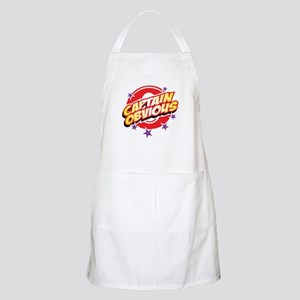 Captain Obvious BBQ Apron