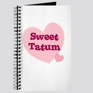 Sweet Tatum Journal