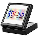 The 50 Club Keepsake Box