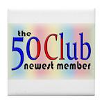 The 50 Club Tile Coaster