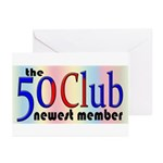 The 50 Club Greeting Cards (Pk of 20)