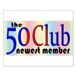 The 50 Club Small Poster