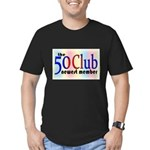 The 50 Club Men's Fitted T-Shirt (dark)