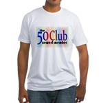 The 50 Club Fitted T-Shirt