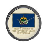 Vermont Proud Citizen Wall Clock