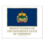 Vermont Proud Citizen Small Poster