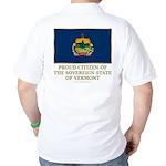 Vermont Proud Citizen Golf Shirt