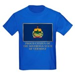 Vermont Proud Citizen Kids Dark T-Shirt