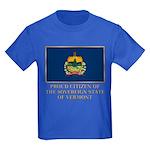 Vermont Proud Citizen Kids Dark T-Shirt