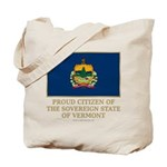Vermont Proud Citizen Tote Bag