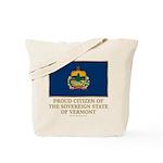 Vermont Proud Citizen Tote Bag