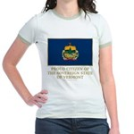 Vermont Proud Citizen Jr. Ringer T-Shirt