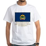 Vermont Proud Citizen White T-Shirt
