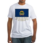 Vermont Proud Citizen Fitted T-Shirt
