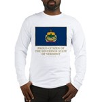 Vermont Proud Citizen Long Sleeve T-Shirt