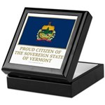 Vermont Proud Citizen Keepsake Box