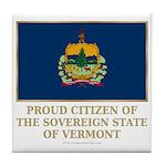 Vermont Proud Citizen Tile Coaster