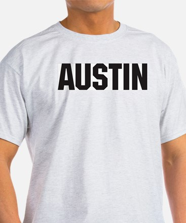 Austin, Texas Ash Grey T-Shirt