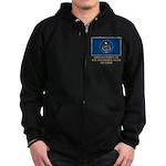 Utah Proud Citizen Zip Hoodie (dark)