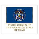 Utah Proud Citizen Small Poster