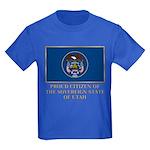 Utah Proud Citizen Kids Dark T-Shirt