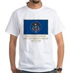 Utah Proud Citizen White T-Shirt