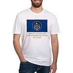 Utah Proud Citizen Fitted T-Shirt