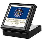 Utah Proud Citizen Keepsake Box